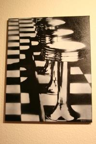 Custom Stencil Piece