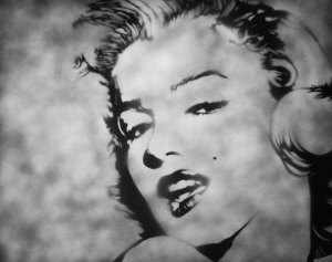"""Marilyn"" 30"" x 24"" x 1.5"" Ray Ferrer - 2013"