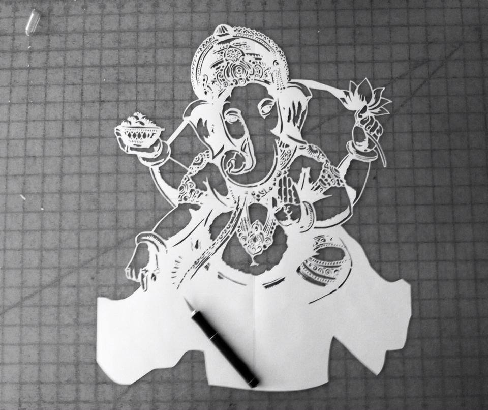 22 Hours of progress for this custom stencil… | Ray Ferrer